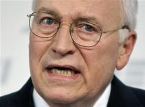 <p>U.S. Vice President Dick Cheney speaks about national security at the American Enterprise Institute in Washington in this file image from May 21, 2009. REUTERS/Joshua Roberts/Files</p>