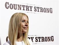"<p>Cast member Gwyneth Paltrow poses at a special screening of ""Country Strong"" at the Academy of Motion Picture Arts and Sciences theatre in Beverly Hills, California December 14, 2010. REUTERS/Mario Anzuoni</p>"