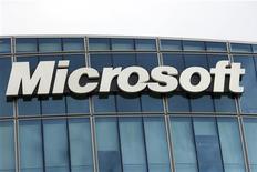 <p>Microsoft a annoncé lundi que son service de messagerie électronique Hotmail fonctionnait à nouveau normalement après une série de dysfonctionnements qui ont empêché certains de ses 360 millions d'utilisateurs à travers le monde de se connecter normalement à leurs comptes. /Photo d'archives/REUTERS/Charles Platiau</p>