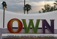 <p>El logo de la cadena OWN en su sede de Pasadena, EEUU, ene 6 2011. Una encantada Oprah Winfrey dijo el jueves que pasó del susto a la emoción frente a la apuesta de lanzar su propia cadena de televisión por cable, OWN. REUTERS/Fred Prouser</p>