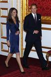 <p>O noivado do príncipe William com Kate Middleton foi anunciado em novembro do ano passado. 16/11/2010 REUTERS/Suzanne Plunkett/Files</p>