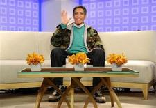 "<p>Homeless man Ted Williams appears on NBC's ""Today"" show in New York, January 6, 2011. REUTERS/Peter Kramer/NBC</p>"