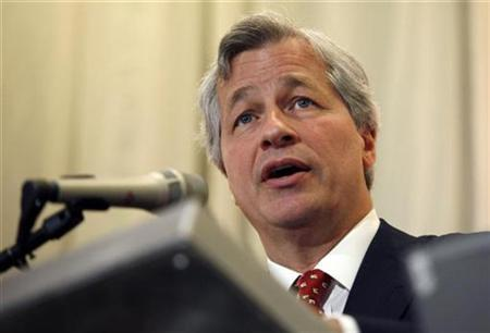JPMorgan Chase & Co Chief Executive Jamie Dimon speaks at the Stanford Institute for Economic Policy Research at Stanford University in Palo Alto, California March 12, 2010. REUTERS/Robert Galbraith