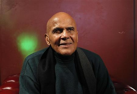 Harry Belafonte poses for a portrait while promoting his documentary ''Sing Your Song'' during the Sundance Film Festival in Park City, Utah January 22, 2011. REUTERS/Mario Anzuoni