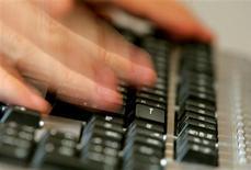 <p>Le commerce en ligne en France a progressé de 24% en 2010, tiré par l'explosion du nombre de sites marchands et par l'augmentation du nombre d'acheteurs en ligne. /Photo d'archives/REUTERS</p>