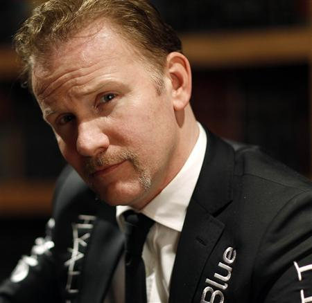 Director Morgan Spurlock poses for a portrait while promoting his documentary ''The Greatest Movie Ever Sold'' during the Sundance Film Festival in Park City, Utah January 23, 2011. REUTERS/Mario Anzuoni