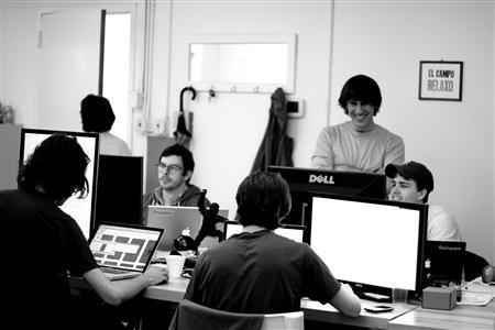 A view of the Foursquare office in an undated image courtesy of the company. REUTERS/Foursquare