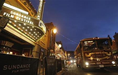 The Egyptian Theatre is seen during the Sundance Film Festival in Park City, Utah January 21, 2011. REUTERS/Mario Anzuoni