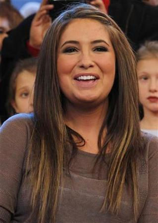 Bristol Palin, daughter of conservative politician Sarah Palin, appears on ABC's 'Good Morning America' show in New York November 24, 2010. REUTERS/Brendan McDermid