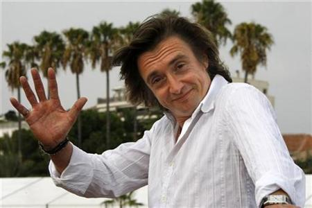 British presenter Richard Hammond poses at the annual MIPCOM television programme market in Cannes, southeastern France, October 5, 2009. REUTERS/Eric Gaillard