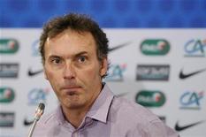 <p>Para Blanc, seleção brasileira é uma das melhores do mundo. 03/02/2011 REUTERS/Gonzalo Fuentes</p>