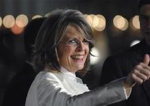 """<p>Foto de archivo de la actriz Diane Keaton a su llegada al estreno del filme """"Mad Money"""" en Los Angeles, ene 9 2008. Keaton y Ed Harris protagonizarán """"The Look of Love"""", una película descrita como una compleja historia de amor llena de humor y sorpresas. REUTERS/Phil McCarten</p>"""