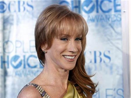Comedienne Kathy Griffin arrives at the 2011 People's Choice Awards in Los Angeles January 5, 2011 REUTERS/Danny Moloshok