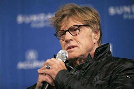 Founder and President of Sundance Institute Robert Redford speaks at a news conference to discuss the 2011 Sundance Film Festival at the Egyptian Theatre in Park City, Utah January 20, 2011. REUTERS/Mario Anzuoni (UNITED STATES - Tags: ENTERTAINMENT HEADSHOT)