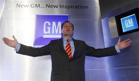 Martin Apfel, president of General Motors' Thailand/Southeast Asia operations, poses after a news conference at a hotel in Bangkok July 29, 2010. REUTERS/Chaiwat Subprasom (THAILAND - Tags: TRANSPORT BUSINESS)