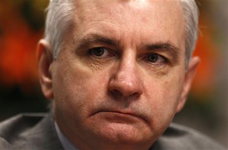 U.S. Senate Banking Committee member Jack Reed (D-RI) listens to a question at the Reuters Future Face of Finance Summit in Washington March 1, 2011. REUTERS/Kevin Lamarque