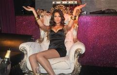 """<p>Teenage nightclub dancer Karima El Mahroug, who used the stage name """"Ruby Rubacuori"""" (Heartstealer), poses during a photocall at the Karma disco in Milan in this November 14, 2010 file photo. REUTERS/Stringer/Files</p>"""