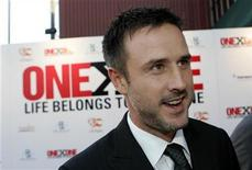 <p>Actor David Arquette arrives at the ONEXONE Foundation fundraising event in San Francisco, California October 23, 2008. REUTERS/Robert Galbraith</p>