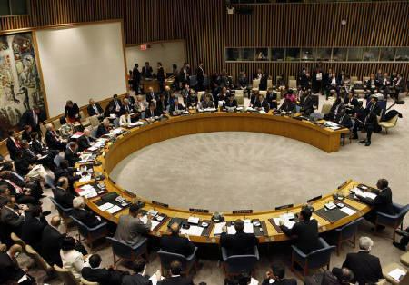 The United Nations Security Council is convened at U.N. headquarters in New York, November 16, 2010. REUTERS/Brendan McDermid