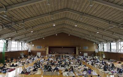 Japan's evacuation centers