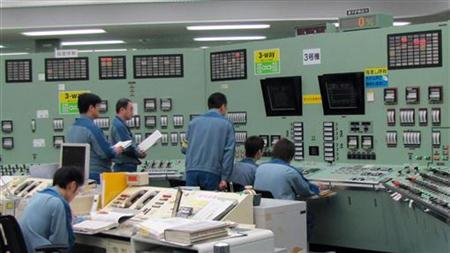 The central control room for the No. 3 reactor at the Tokyo Electric Power Co. Fukushima Daiichi Nuclear Power Plant in Tomioka, Fukushima Prefecture in northeastern Japan in September 2010. REUTERS/Tokyo Electric Power Co.