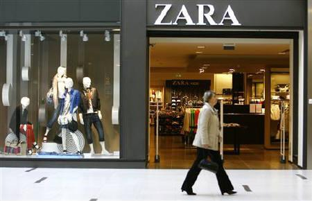 zara owner inditex sales buoyed by india china reuters. Black Bedroom Furniture Sets. Home Design Ideas