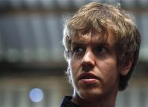 <p>Sebastian Vettel da Alemanha, em fazenda perto de Melbourne. A Fórmula 1, no Grande Prêmio da Austrália, que vai acontecer no domingo dia 27, será a primeira corrida da temporada, após o evento ter sido cancelado no Bahrein devido aos conflitos políticos. 23/03/2011 REUTERS/Mick Tsikas</p>