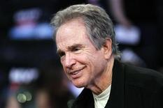 <p>Actor Warren Beatty attends the NBA All-Star basketball game in Los Angeles February 20, 2011. REUTERS/Danny Moloshok</p>