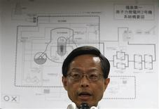 <p>Japan's nuclear safety agency official Hidehiko Nishiyama speaks during a news conference on Tokyo Electric Power Co.'s Fukushima Daiichi Nuclear Power Plant, in Tokyo, March 30, 2011. REUTERS/Issei Kato</p>