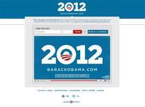 <p>Страница сайта www.barackobama.com после запуска предвыборной кампании Барака Обамы 4 апреля 2011 года. Президент США Барак Обама в понедельник запустил кампанию за переизбрание на выборах 2012 года, объявив об этом на своем сайте и отправив сообщения сторонникам. REUTERS/http://www.barackobama.com/</p>