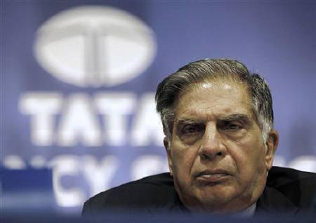 Ratan Tata, Chairman of the Tata Group, attends the annual general meeting of Tata Consultancy Services in Mumbai July 2, 2010. REUTERS/Danish Siddiqui/Files