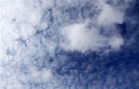 Clouds are seen above Delft's University of Technology in Delft in this March 6, 2009 file photo. REUTERS/Jerry Lampen/Files