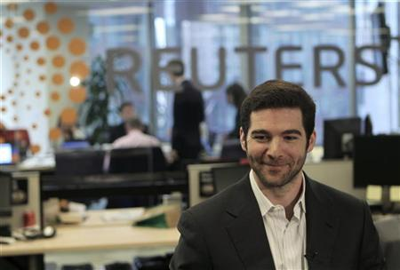 LinkedIn CEO Jeff Weiner talks during an interview during the Reuters Technology Summit in San Francisco, California May 17, 2010. REUTERS/Robert Galbraith