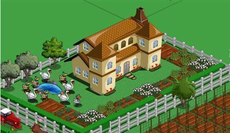 A screenshot of the game Farmville is seen in a handout photo. REUTERS/Zynga/Handout