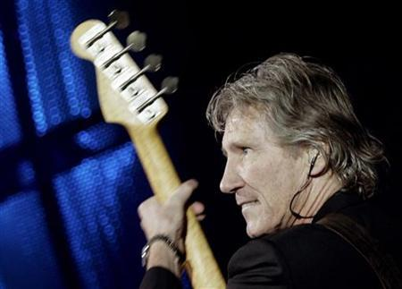 British rock star Roger Waters of Pink Floyd performs at the Rock in Rio festival held in Lisbon, Portugal June 2, 2006.