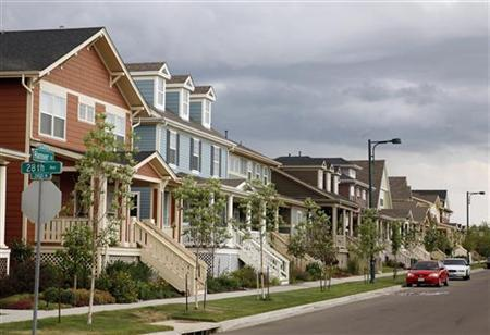 Houses in a Colorado development in a file photo. REUTERS/Rick Wilking