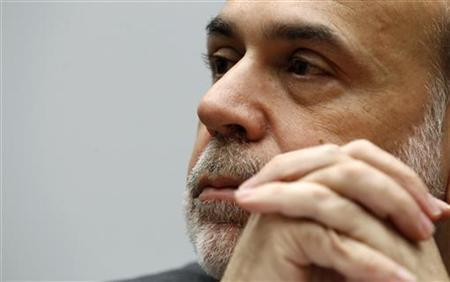Fed Chairman Ben Bernanke testifies on Capitol Hill, March 2, 2011. REUTERS/Kevin Lamarque