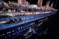 """<p>Imagen de archivo de la cinta Titanic. La aclamada cinta épica de Hollywood """"Titanic"""" regresará el próximo año a los cines de todo el mundo en una versión 3D, dijeron el jueves estudios y el director James Cameron. REUTERS/Ho New</p>"""