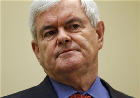Republican presidential candidate Newt Gingrich attends the 51st Washington Conference with Laffer Associates in Washington May 13, 2011. REUTERS/Jason Reed