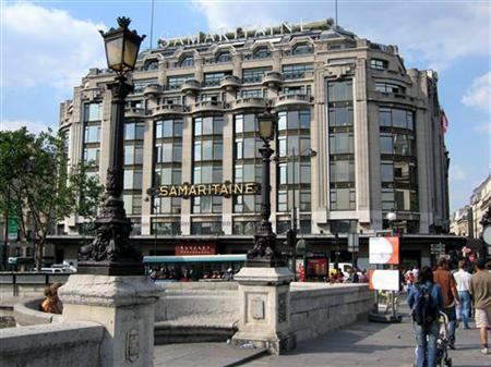 France's Samaritaine department store is seen in central Paris, June 10, 2005. REUTERS/Mal Langsdon