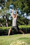 "<p>The lunge stretch, from the book ""Foundation: Redefine Your Core, Conquer Back Pain, and Move with Confidence"" is demonstrated in this undated file photo. REUTERS/Elizabeth Kreutz</p>"