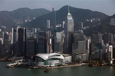 A view of Hong Kong's financial district September 27, 2010. REUTERS/Tyrone Siu