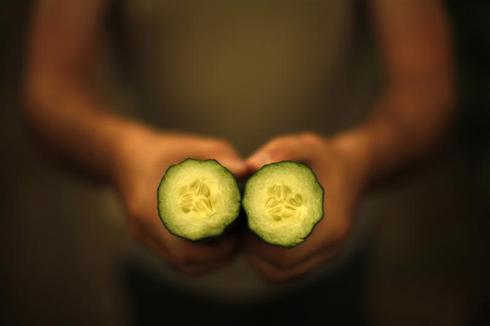 Contaminated cucumber scare