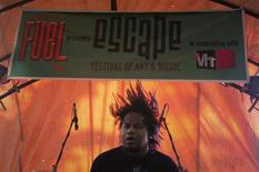 <p>Vikas Soren, lead singer of Indian heavy metal band Phobia, performs at the Escape Festival of Art and Music in the northern Indian town of Naukuchiatal May 21, 2011. REUTERS/Atish Patel</p>