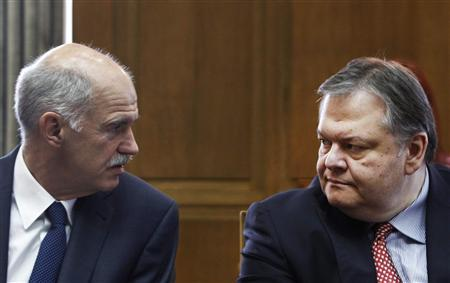Greek reshuffle, Berlin-Paris deal ease euro fears