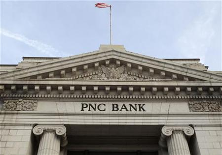 A view of the PNC Bank building in Washington January 21, 2010. REUTERS/Larry Downing