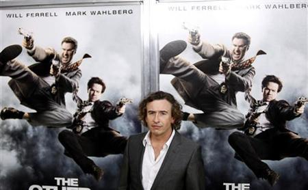 Cast member Steve Coogan arrives for the premiere of the film ''The Other Guys'' in New York August 2, 2010. REUTERS/Lucas Jackson