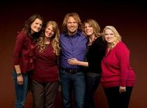 <p>Kody Brown with sister wives (L to R) Robyn, Christine, Meri and Janelle. REUTERS/TLC/George Lange</p>
