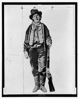 Henry McCarty, a.k.a. Billy the Kid, is pictured in this undated photograph obtained by Reuters on December 16, 2010. REUTERS/Library of Congress/Handout