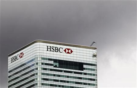 The HSBC building is seen on Canary Wharf in London, May 11, 2011 REUTERS/Olivia Harris